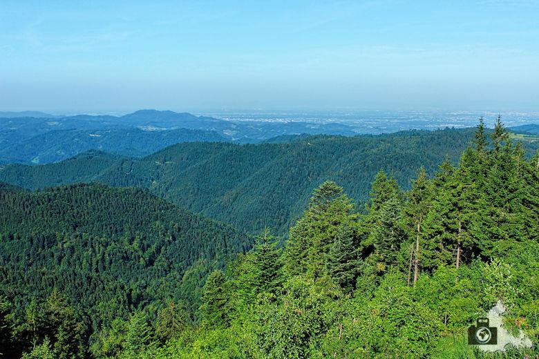 Schwarzwald Berge - Berge im Nordschwarzwald
