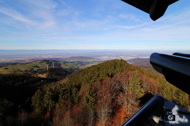 Schwarzwald Berge - Blick vom Schauinslandbahn