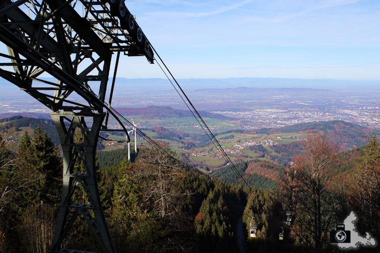 Schwarzwald Berge - Schauinslandbahn