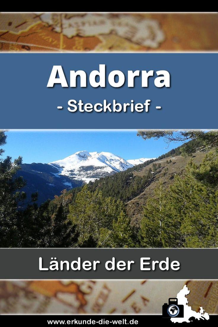 Steckbrief Andorra