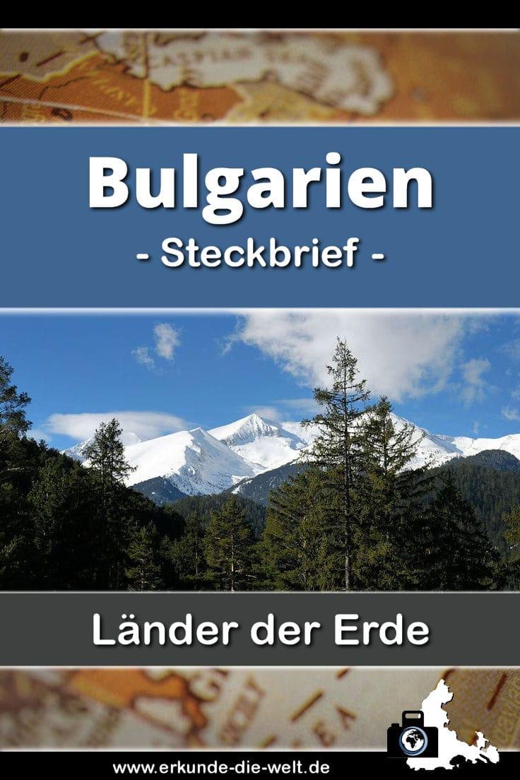 Steckbrief Bulgarien