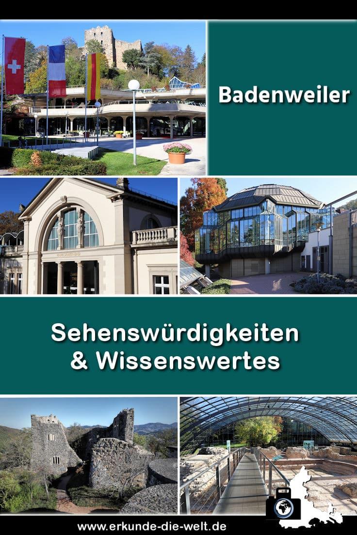 Badenweiler im Schwarzwald - Kompakt-Reiseführer