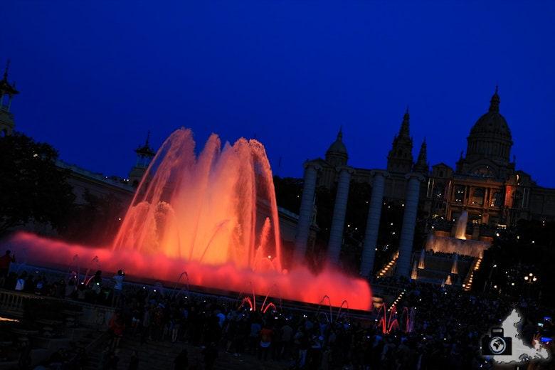 Fotografieren zur Blauen Stunde - Barcelona