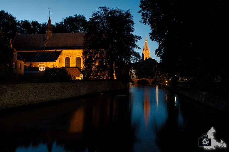 Fotografieren zur Blauen Stunde - Brügge