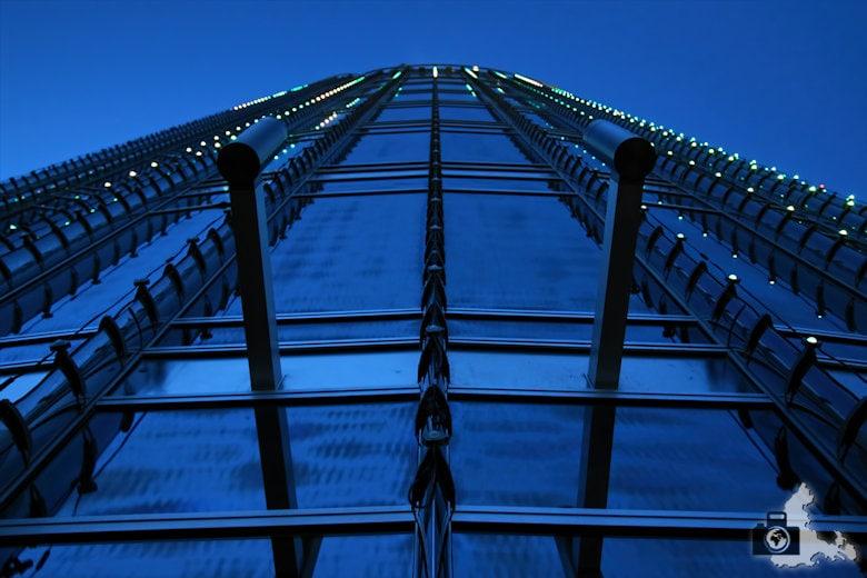Fotografieren zur Blauen Stunde - Dubai
