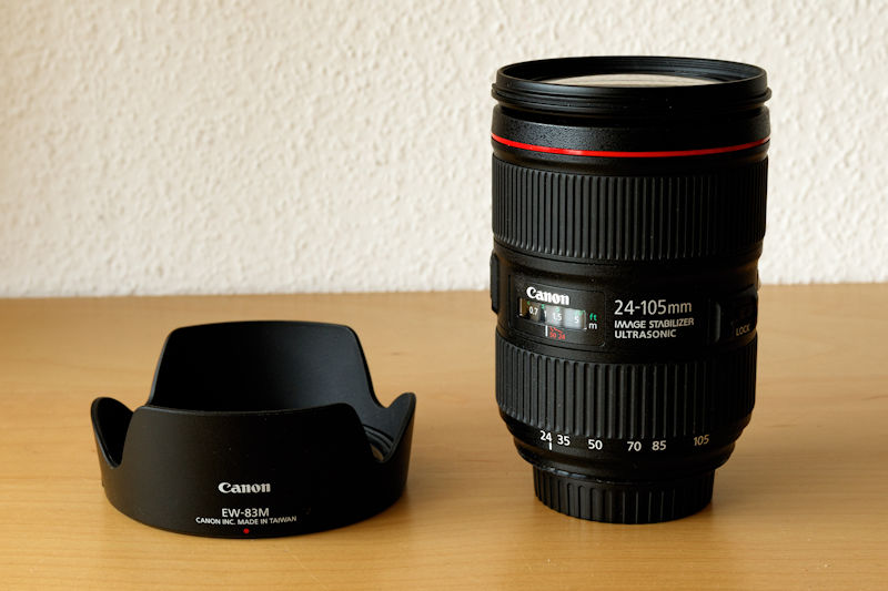 Canon 24-105 f/4 L IS II USM im Test - Standardzoom fürs Vollformat