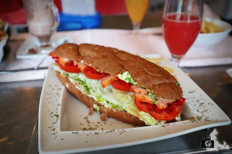 Sandwich, Marilyn's 60's Diner, Storms River, Tsitsikamma