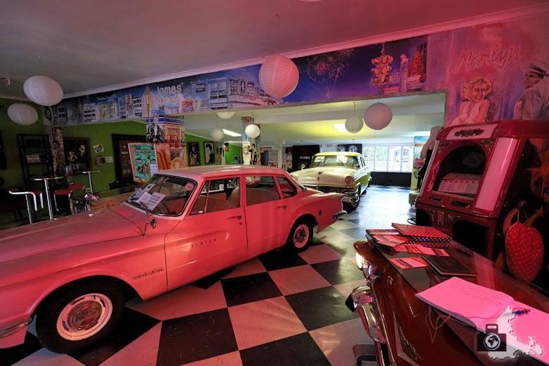 Oldtimer, Marilyn's 60's Diner, Storms River, Tsitsikamma