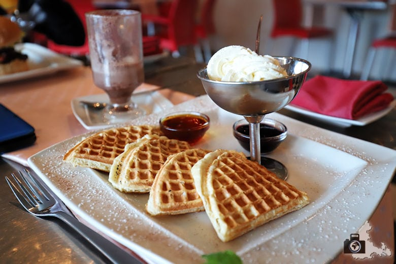 Waffeln, Marilyn's 60's Diner, Storms River, Tsitsikamma