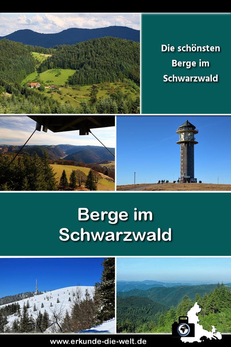 Die schönsten Schwarzwald Berge in der Übersicht