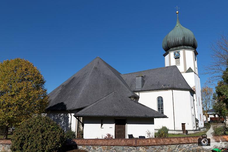 Hinterzarten im Schwarzwald - Wallfahrtskirche Maria Himmelfahrt