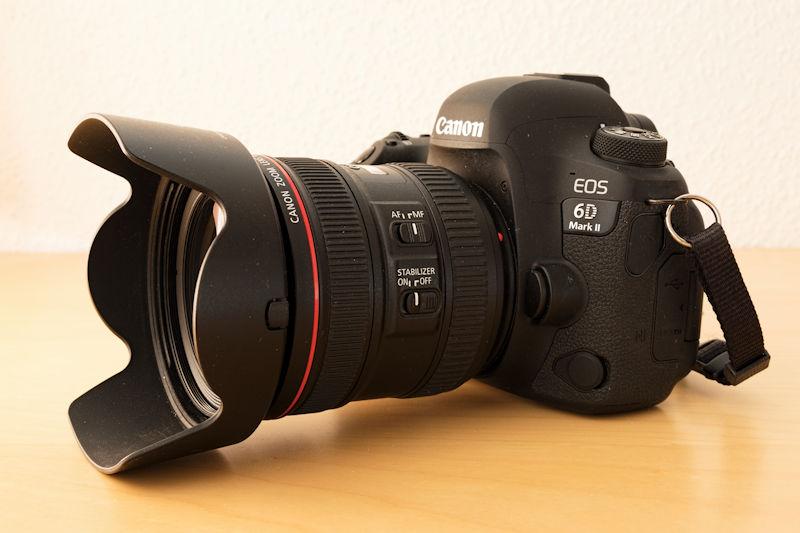 Canon 24-70 L IS USM an der Canon 6D Mark II im Test