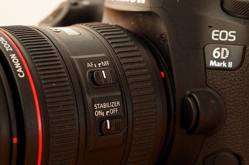 Canon 24-70 L IS USM - Bildstabilisator