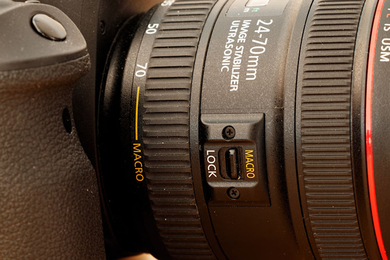 Canon 24-70 L IS USM - Makro Funktion