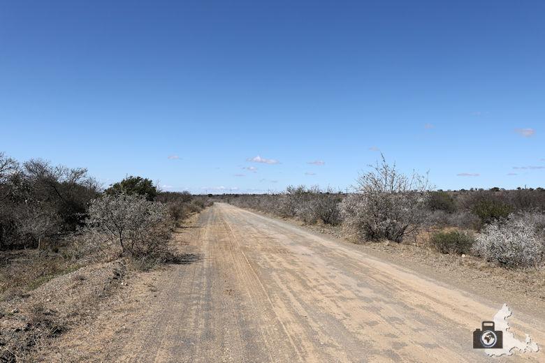 Anfahrt Kuzuko Lodge - Dirty Road