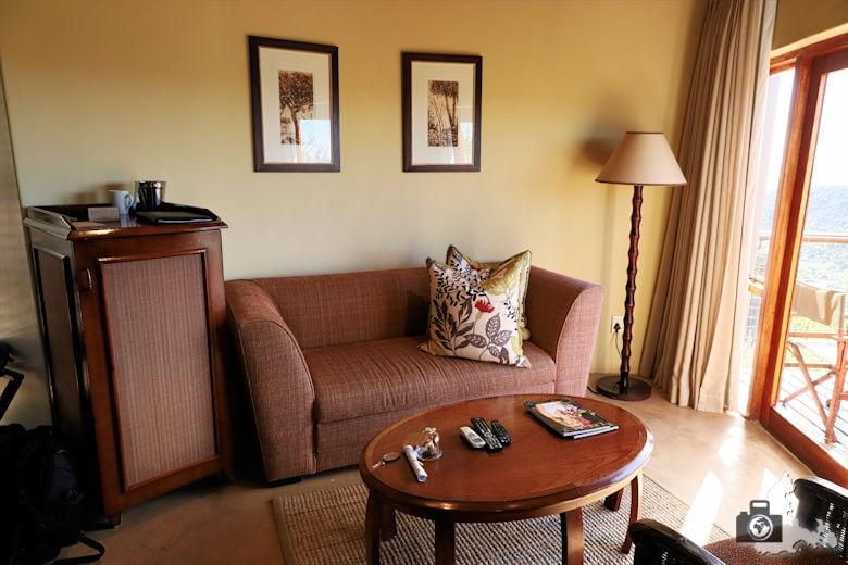 Kuzuko Lodge - Zimmer im Chalet