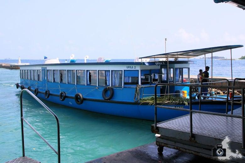 Malediven - Fähre zwischen Male und Hulhumale