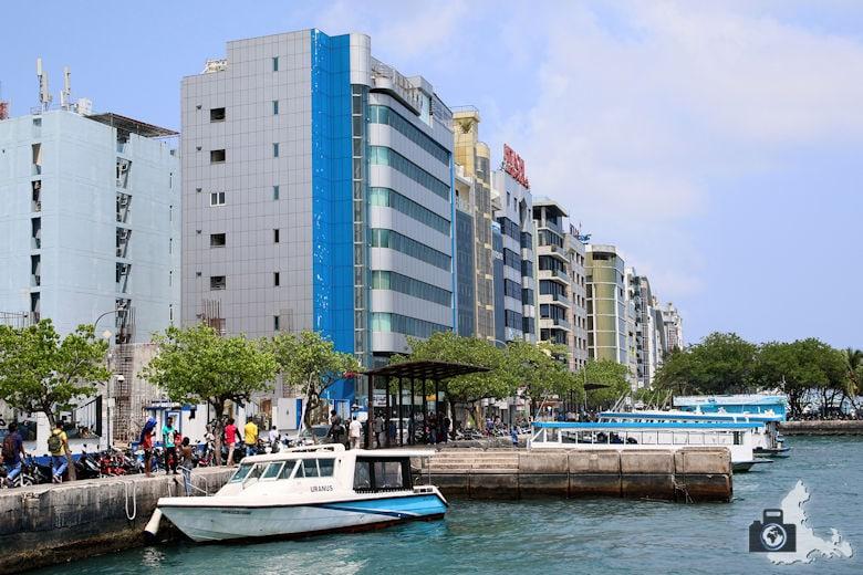 Male auf den Malediven - Sightseeing