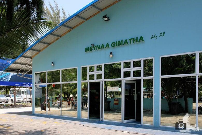 Malediven Hulhumale Flughafen