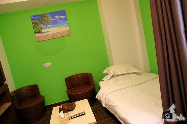 Hotel h78 auf Hulhumale, Malediven