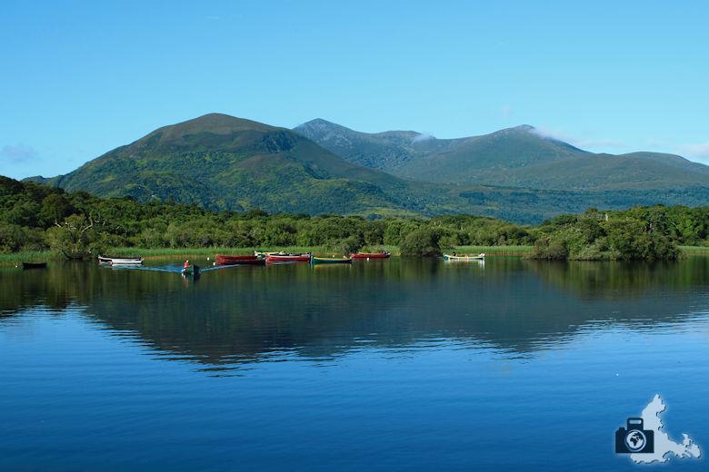 Fotografie Tipps - Landschaftsbild mit Spiegelung von Bergen im See