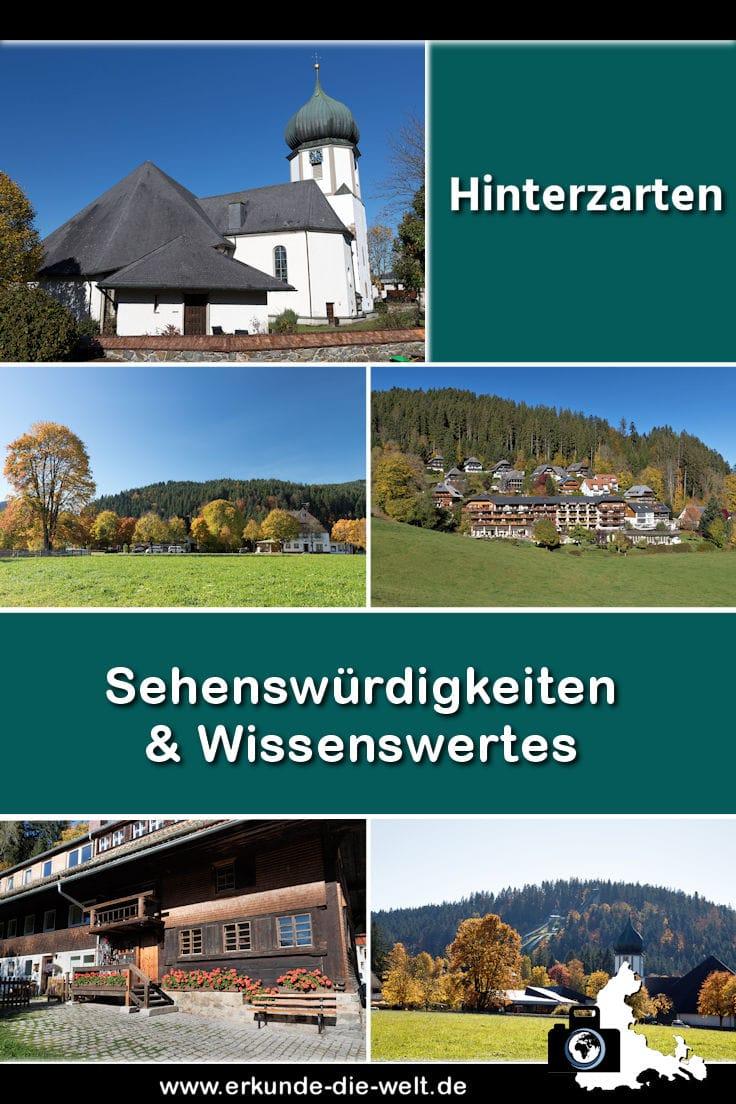 Hinterzarten im Schwarzwald - Kompakt-Reiseführer