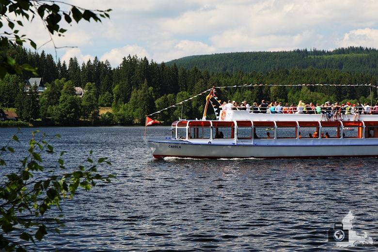 Sehenswürdigkeiten und Wissenswertes über Titisee-Neustadt im Schwarzwald - Ausflugsboot