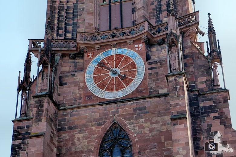 Freiburger Münster - Turmuhr