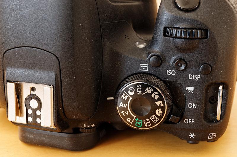 Canon EOS 800D - Programmwahlrad