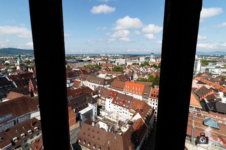 Freiburger Münster - Aussicht über Freiburg