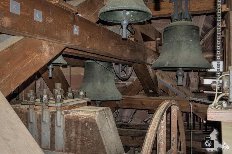 Freiburger Münster - Glocken im Glockenturm