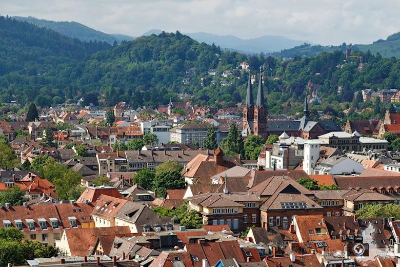 Freiburger Münster - Ausblick vom Westturm