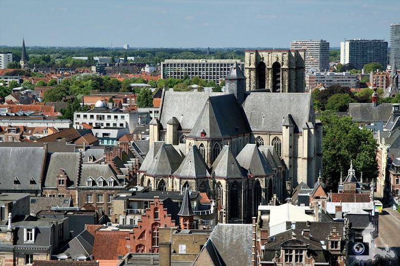 Aussicht vom Belfort in Gent