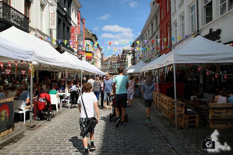 Straßenfest in Gent