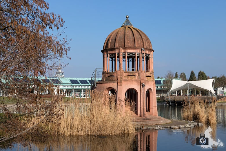 Fotowalk #6 - Seepark Freiburg Tempelchen