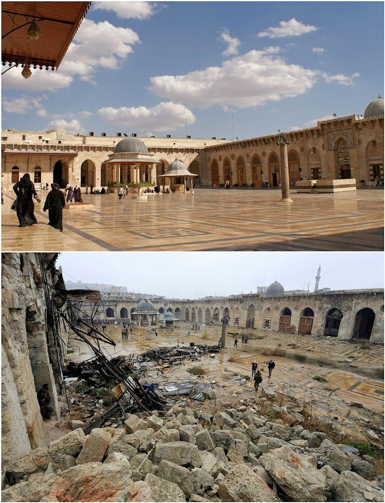 Aleppo vor und nach dem Krieg