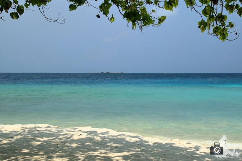 Reisefotografie - Fotografie Tipp - Vordergrundobjekt integrieren - Malediven