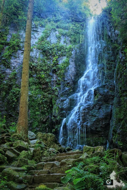 Schwarzwald Wasserfalle - Burgbachwasserfall