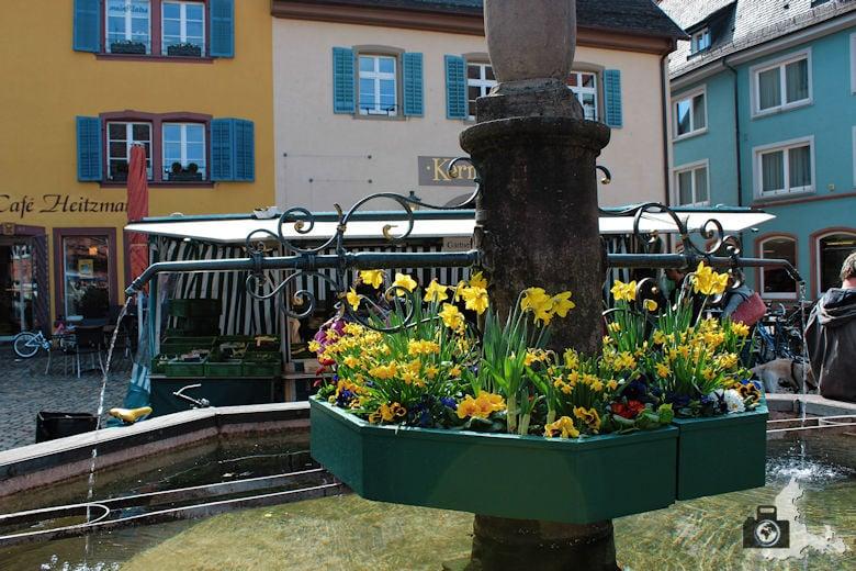 Altstadt von Staufen im Breisgau im Schwarzwald