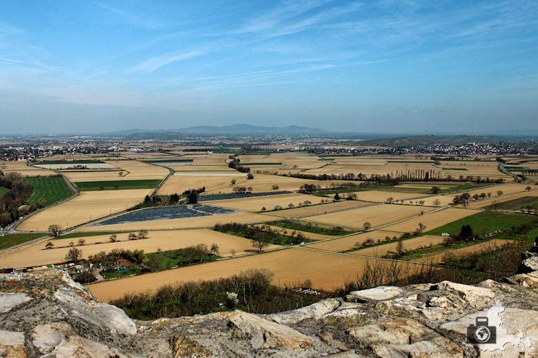 Aussicht von Burg Staufen
