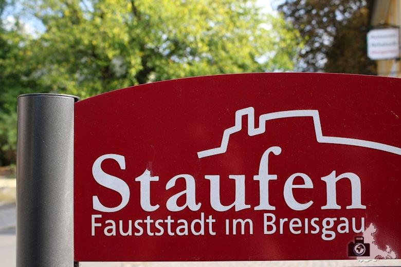 Staufen im Breisgau im Schwarzwald