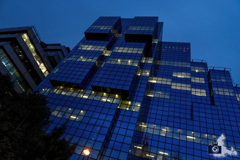 Fotowalk - London Nachtaufnahmen - Bürohaus