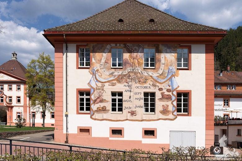 St. Blasien im Schwarzwald - Sonnenuhr