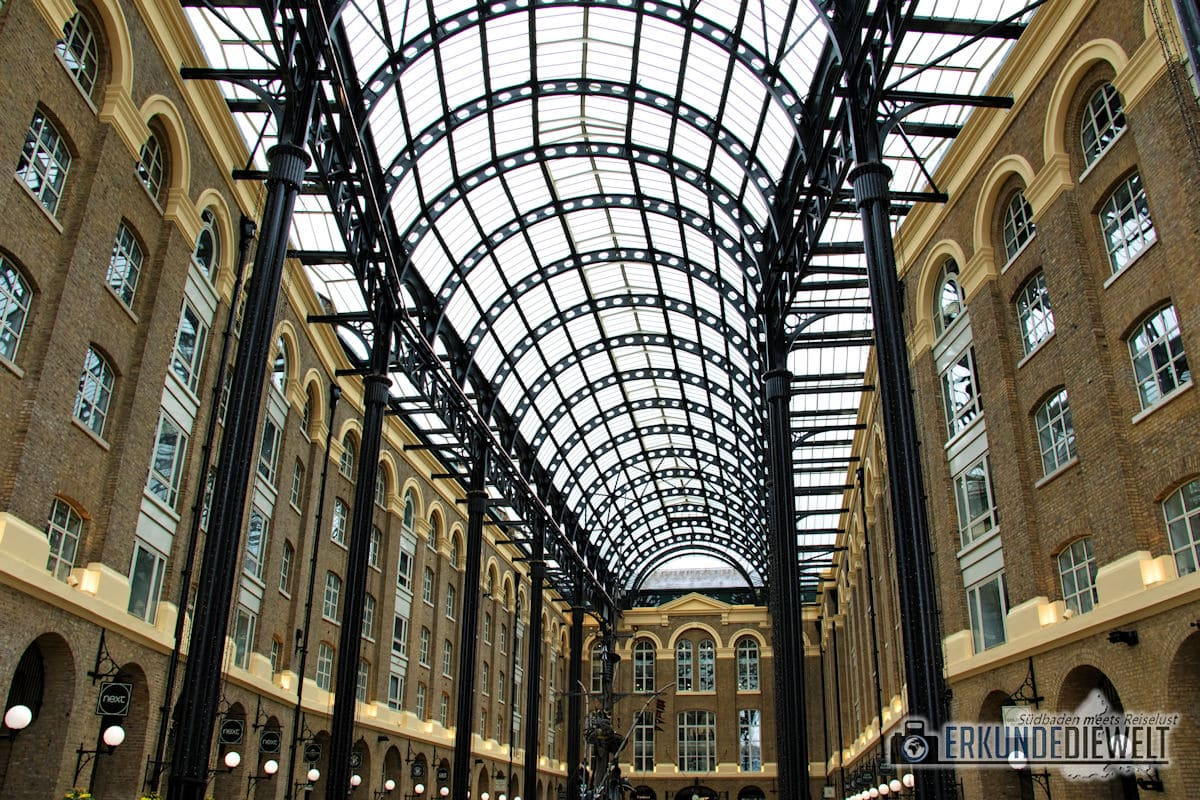 Hay's Galleria, London, Großbritannien