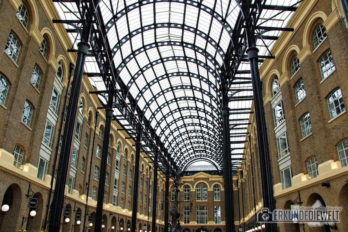 Hay's Galleria, London, Großbritannien