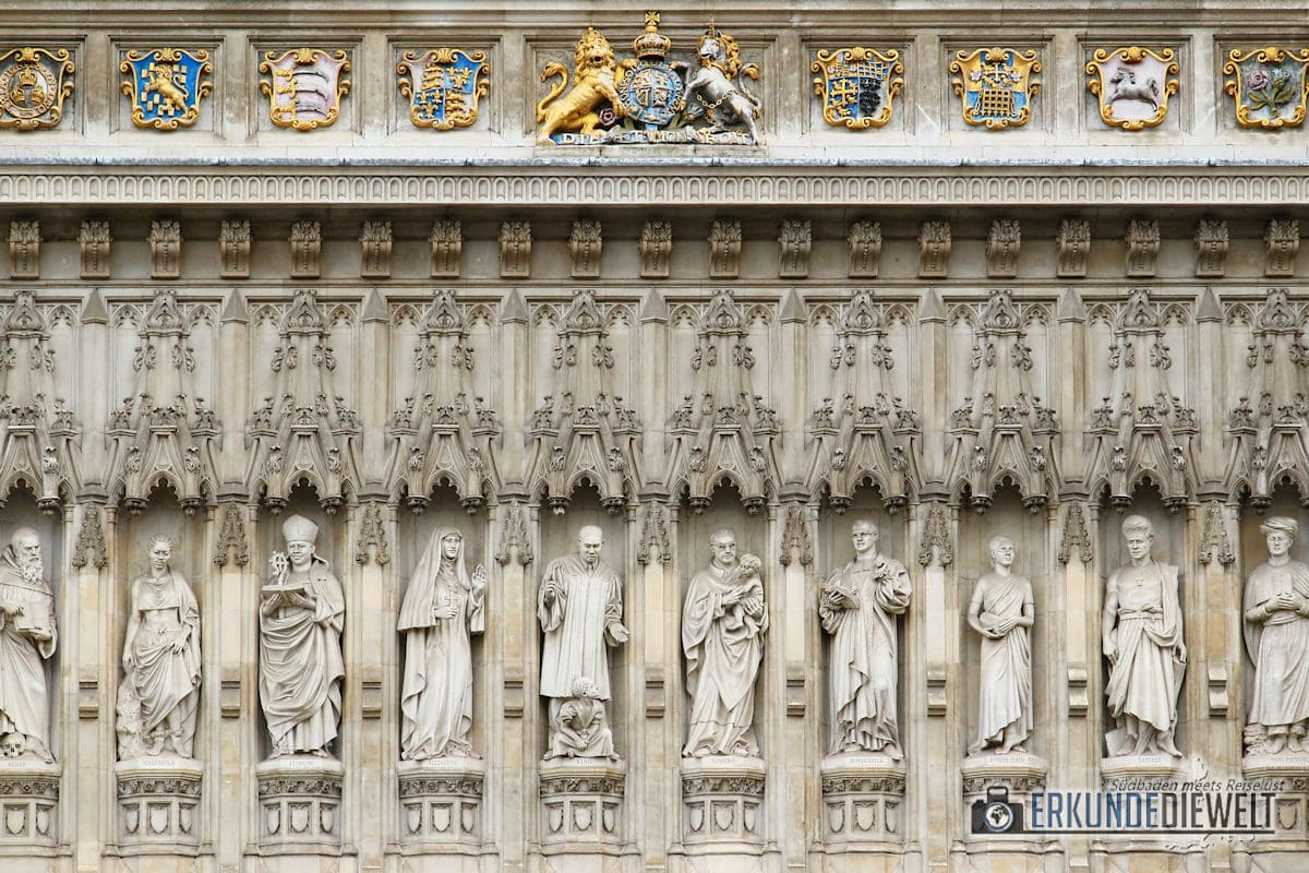 Westminster Abbey. London, Großbritannien