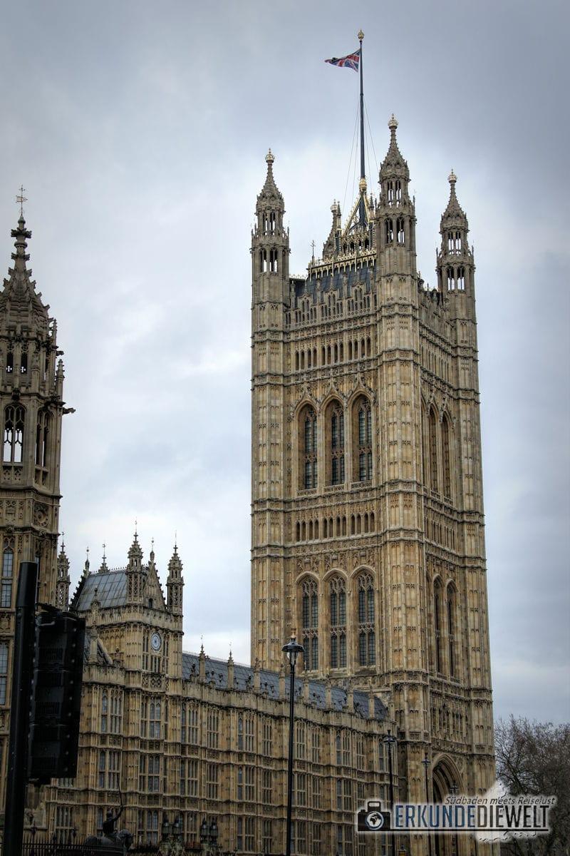 Houses of Parliament. London, Großbritannien