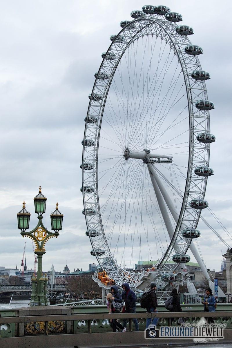 London Eye. London, Großbritannien