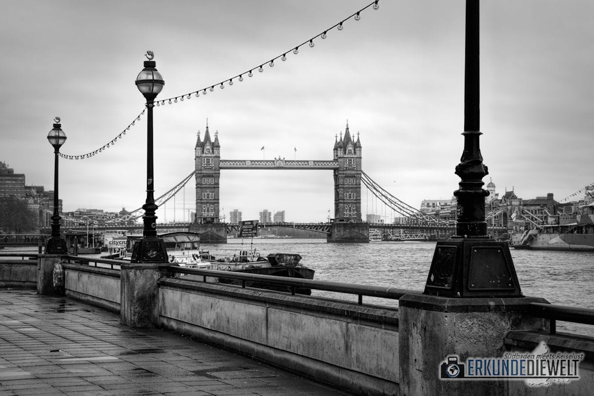 Tower Bridge. London, Großbritannien