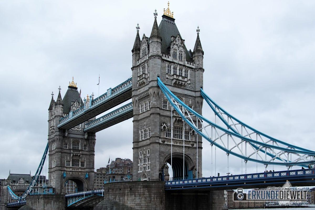 Tower Bridge. London, Großbritannien